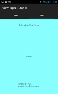 Tab with ViewPager