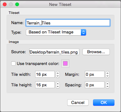 Tiled How To Create Terrain And Use Terrain Tool In Tiled Level - Create tiled image