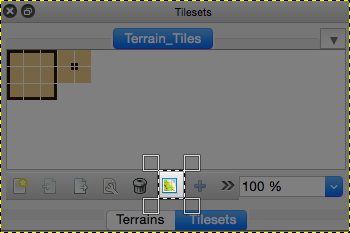 sample example tutorial on how to use Tiled Terrain tool