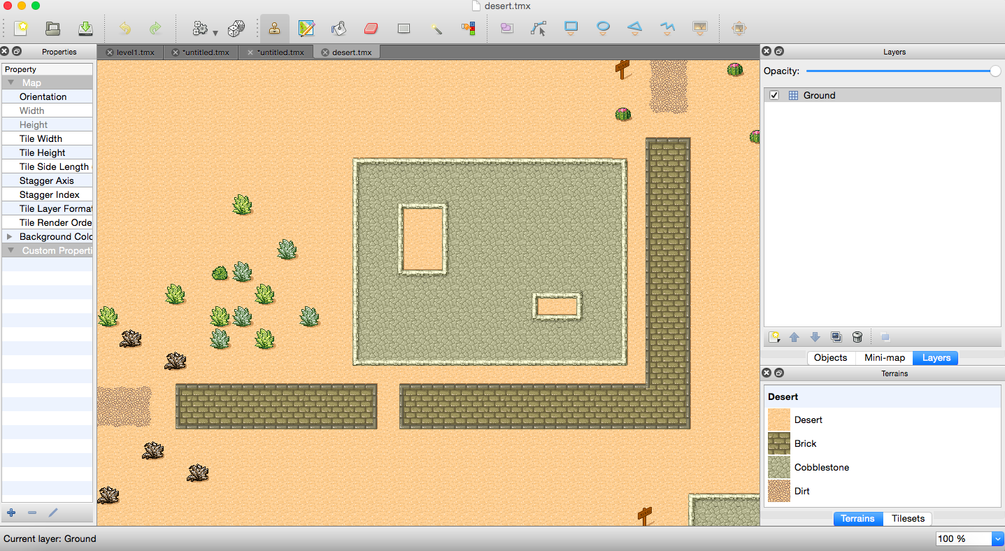 Getting Started Introduction to Tiled Map Editor Example