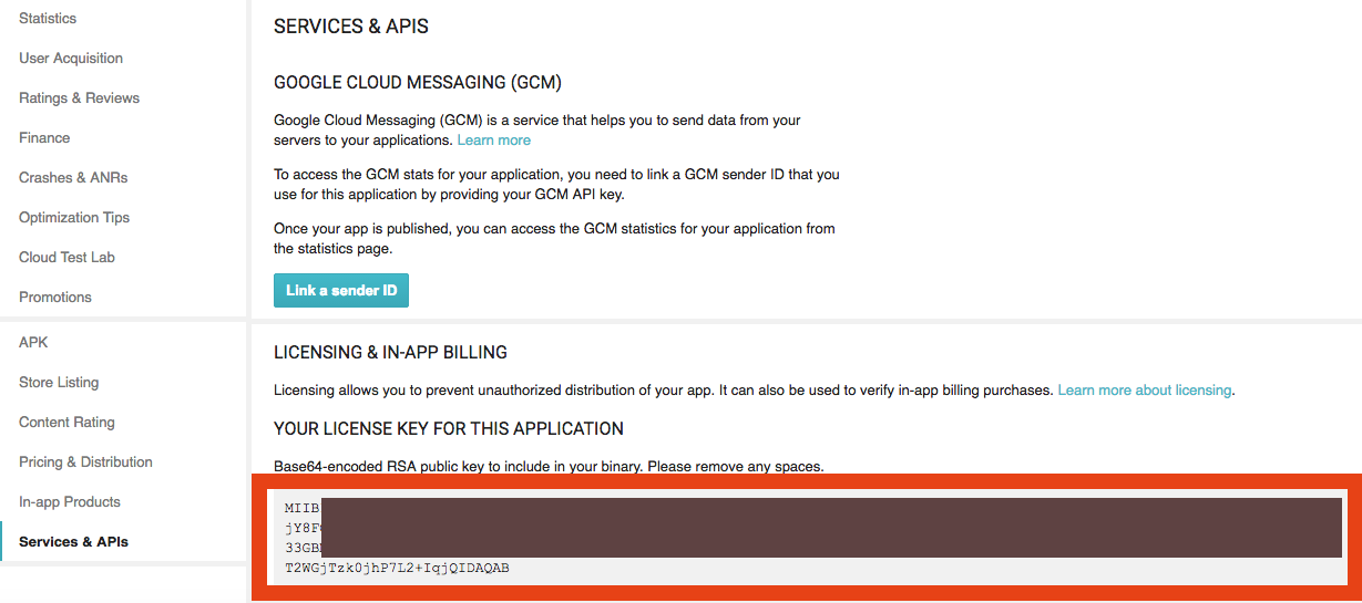 Integrating In app billing Android